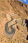 Serpentine road in the Dades Gorge, Morocco, North Africa, Africa Stock Photo - Premium Rights-Managed, Artist: Robert Harding Images, Code: 841-03676254