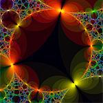 Fractal, computer artwork. Stock Photo - Premium Royalty-Free, Artist: Science Faction, Code: 679-03680419