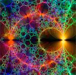 Fractal, computer artwork. Stock Photo - Premium Royalty-Free, Artist: Science Faction, Code: 679-03680425