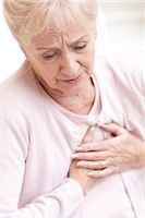 Heart attack. Stock Photo - Premium Royalty-Freenull, Code: 679-03681673
