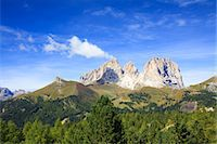 Langkofel Mountain, Dolomites, South Tyrol, Italy Stock Photo - Premium Rights-Managednull, Code: 700-03682481