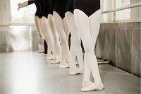 Legs of ballerinas Stock Photo - Premium Royalty-Freenull, Code: 614-03684443