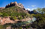 River and Towers of the Virgin, Zion National Park, Utah, USA Stock Photo - Premium Rights-Managed, Artist: Patrick Chatelain, Code: 700-03685765