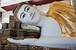 Reclining Buddha, Mahazedi Pagoda, Bago, Myanmar