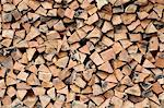 Stack of Firewood Stock Photo - Premium Royalty-Free, Artist: Christopher Gruver, Code: 600-03685980