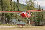 Prop Plane Taking Off, Alaska, USA Stock Photo - Premium Rights-Managed, Artist: Christopher Gruver, Code: 700-03685985