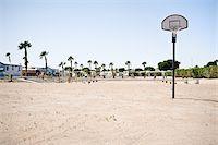 Basketball Hoop in RV Park, Yuma, Arizona, USA Stock Photo - Premium Rights-Managednull, Code: 700-03686129