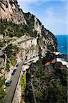 Coastal Road near Amalfi, Amalfi Coast, Lazio, Italy Stock Photo - Premium Rights-Managed, Artist: R. Ian Lloyd, Code: 700-03696794
