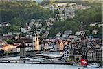 Cityscape of Lucerne, Switzerland Stock Photo - Premium Rights-Managed, Artist: R. Ian Lloyd, Code: 700-03696861