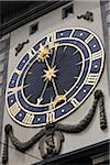 Close-up of Clock, Zytglogge, Bern, Switzerland Stock Photo - Premium Rights-Managed, Artist: R. Ian Lloyd, Code: 700-03696871