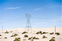 Hydro Tower, Imperial Sand Dunes Recreation Area, California, USA Stock Photo - Premium Royalty-Freenull, Code: 600-03696925