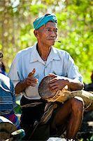Musician at Padadiwatu Market, Sumba, Indonesia Stock Photo - Premium Rights-Managed, Artist: R. Ian Lloyd, Code: 700-03696907