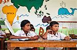 Children in Classroom, Larawatu School, Sumba, Indonesia Stock Photo - Premium Rights-Managed, Artist: R. Ian Lloyd, Code: 700-03696916