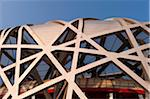 Bird's Nest National Stadium by architects Herzog and De Meuron, 2008, Olympic Green, Beijing, China, Asia. Stock Photo - Premium Rights-Managed, Artist: Emanuele Ciccomartino, Code: 700-03698025