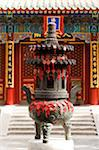 Incense Burner outside Hall of Heavenly Kings, Beihai Park, Xicheng District, Beijing, China Stock Photo - Premium Rights-Managed, Artist: Emanuele Ciccomartino, Code: 700-03698109