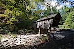 Pisgah Covered Bridge, Randolph County , North Carolina, USA Stock Photo - Premium Rights-Managed, Artist: Ed Gifford, Code: 700-03698293