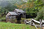 Mabry's Mill, Blue Ridge Parkway, Virginia, USA Stock Photo - Premium Rights-Managed, Artist: Ed Gifford, Code: 700-03698305