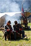 Civil War Re-inactment Camp, Shenandoah Valley, Virginia, USA Stock Photo - Premium Rights-Managed, Artist: Ed Gifford, Code: 700-03698309