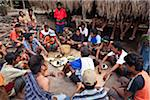 Funeral Ceremony, Waihola Village, Sumba, Indonesia Stock Photo - Premium Rights-Managed, Artist: R. Ian Lloyd, Code: 700-03698321