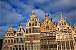 Belgium, Flanders, Antwerp; The decorative merchant houses in the Grote Markt Stock Photo - Premium Rights-Managed, Artist: AWL Images, Code: 862-03710380