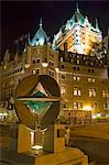 Quebec City, Canada. The United Nations monument in front of the Chateau Frontenac in Quebec City Stock Photo - Premium Rights-Managed, Artist: AWL Images, Code: 862-03710658