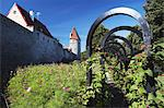 Estonia, Tallinn, Garden Outside Lower Town Wall Stock Photo - Premium Rights-Managed, Artist: AWL Images, Code: 862-03711063