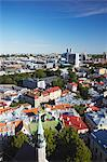 Estonia, Tallinn, View Of Lower Town With Business District In Background Stock Photo - Premium Rights-Managed, Artist: AWL Images, Code: 862-03711073
