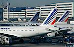 France,Paris. Air France Planes on Charles de Gaulle Airport. Stock Photo - Premium Rights-Managed, Artist: AWL Images, Code: 862-03711241