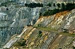 Ghana,Ashanti Region,Obuasi. Open cast Gold mine at Obuasi. Stock Photo - Premium Rights-Managed, Artist: AWL Images, Code: 862-03711609