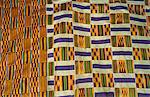Ghana,Volta region,Tafi Abuipe. Fine Kente cloth. The Ashantis and Ewes both lay claim to having invented it. Stock Photo - Premium Rights-Managed, Artist: AWL Images, Code: 862-03711645