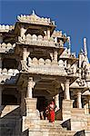 The Ranakpur complex is one of the biggest and most important Jain temples in India. Ranakpur Jain Temple near Udaipur,Rajasthan,India Stock Photo - Premium Rights-Managed, Artist: AWL Images, Code: 862-03711979
