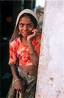 Indian girl, State of Rajasthan, India Stock Photo - Premium Rights-Managednull, Code: 862-03712109