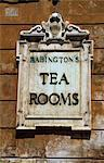 Sign for Babington's Tea Rooms at the bottom of the Spanish Steps Stock Photo - Premium Rights-Managed, Artist: AWL Images, Code: 862-03712212