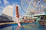Minato Mirai amusement park rollercoaster Stock Photo - Premium Rights-Managed, Artist: AWL Images, Code: 862-03712465