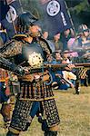 Japan,Honshu Island,Tokyo. Samurai costume battle reenactment. Stock Photo - Premium Rights-Managed, Artist: AWL Images, Code: 862-03712531