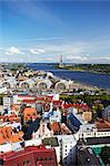 View of Old Town with Daugava River, Riga, Latvia Stock Photo - Premium Rights-Managed, Artist: AWL Images, Code: 862-03712686