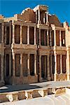 Libya, Sabratha. Roman theatre restored by Italians in the 1920s. Stock Photo - Premium Rights-Managed, Artist: AWL Images, Code: 862-03712743