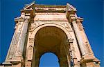 Libya; Tripolitania; Khums; Arch of Septimius Severus in the well preserved city of Lepcis Magna. Stock Photo - Premium Rights-Managed, Artist: AWL Images, Code: 862-03712771