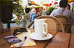 Lithuania, Vilnius, Coffee And Map At Cafe On Pilies Gatve Stock Photo - Premium Rights-Managed, Artist: AWL Images, Code: 862-03712788
