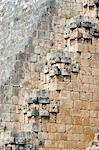Uxmal, Mexico. Details in the Mayan ruins at Uxmal Mexico Stock Photo - Premium Rights-Managed, Artist: AWL Images, Code: 862-03712920