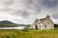 Derelict farmhouse near Arivruach, Isle of Lewis, Hebrides, Scotland, UK Stock Photo - Premium Rights-Managednull, Code: 862-03713386