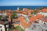 Sweden, Island of Gotland, Visby. Medieval street plan and buildings. Stock Photo - Premium Rights-Managed, Artist: AWL Images, Code: 862-03713664