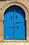 Tunisia, Tunis, Sidi-Bou-Said. Street door. Stock Photo - Premium Rights-Managed, Artist: AWL Images, Code: 862-03713895