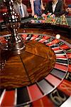 Close up of spinning roulette wheel Stock Photo - Premium Royalty-Free, Artist: Ursula Klawitter, Code: 635-03716330