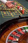 Close up of ball on roulette wheel Stock Photo - Premium Royalty-Free, Artist: AWL Images, Code: 635-03716347