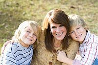 Portrait of Mother and Sons Stock Photo - Premium Rights-Managednull, Code: 700-03719332
