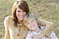 Portrait of Mother and Son Stock Photo - Premium Rights-Managednull, Code: 700-03719333