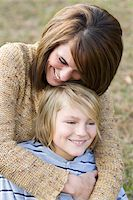 Close-Up of Mother and Son Stock Photo - Premium Rights-Managednull, Code: 700-03719338