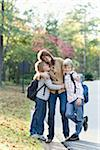 Mother Taking Sons to School Stock Photo - Premium Rights-Managed, Artist: Kevin Dodge, Code: 700-03719342