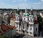 Church of St Nicholas, Old Town, Prague in context Stock Photo - Premium Rights-Managed, Artist: Arcaid, Code: 845-03720266